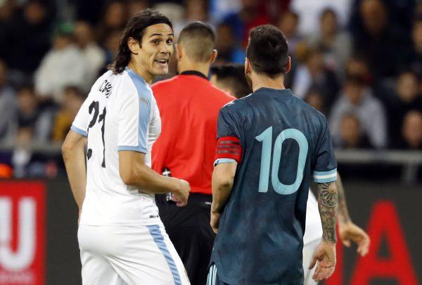 Cavani Messi