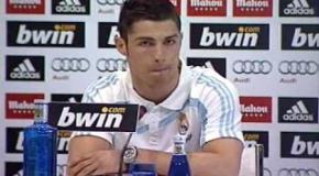 Cristiano enojado con la hinchada del Madrid
