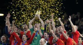 La selección española con todos los premios