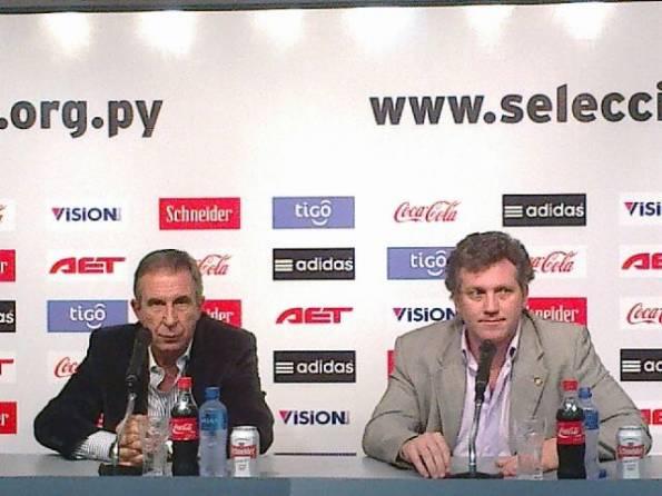 Gerardo Pelusso fue presentado como nuevo director técnico de la selección paraguaya de fútbol