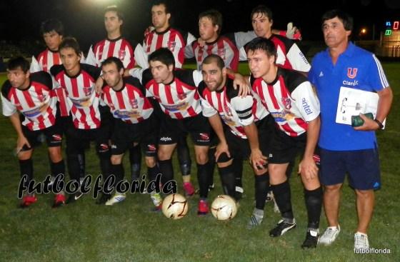 El último equipo que alineó Ramón el 10-03-12 en Melo cuando cayera ante los locales 2-1 y quedara eliminado de la final del interior