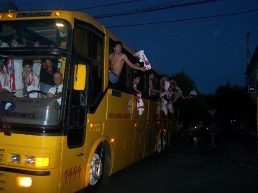 La caravana que recorrió las calles de Florida