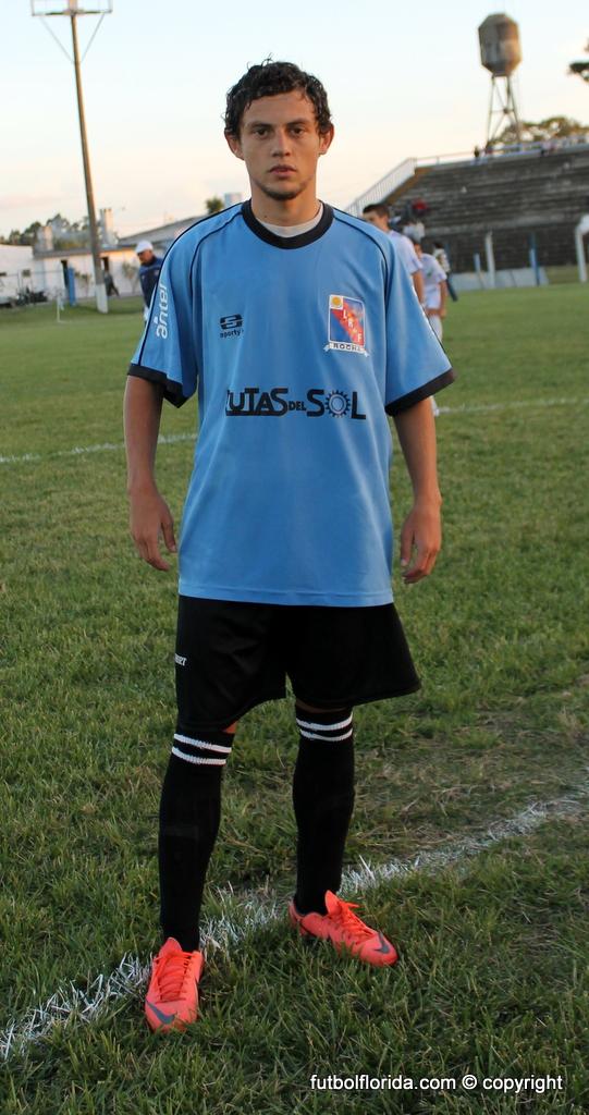 Este es Gastón Garaza, el goleador del interior que juega en Rocha