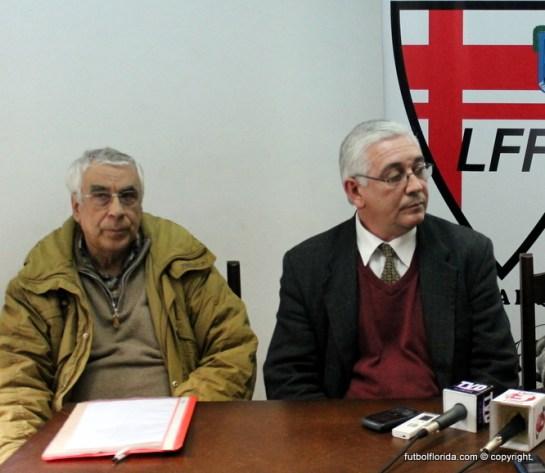 Bello y Pérez D'Auria recibirán a sus pares del Sur con incidencia del fútbol profesional