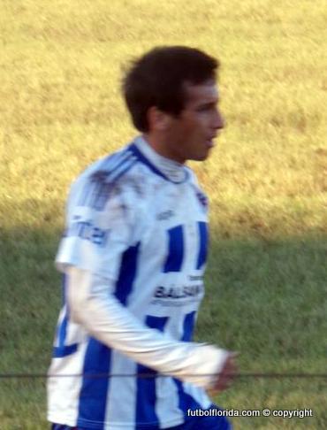 Aldo Díaz el goleador isabelino, Foto Martín Bengoechea