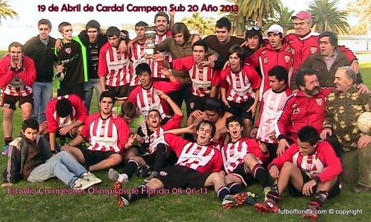 19 de Abril es Campeon Sub 20. Foto Roberto León