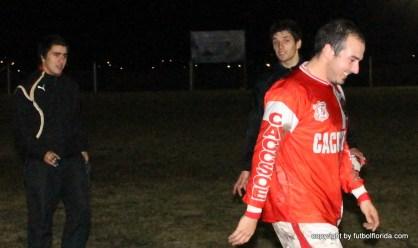 Bocha Gomez, Cristian Alvarez y el Prof Emiliano Berrondo