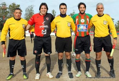 Suarez, Ferreri, Otaiza, Cruz y Castillo