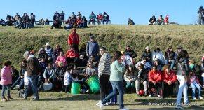 Mucho público en cancha de -Tabare