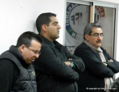 García también participó activamente en la información