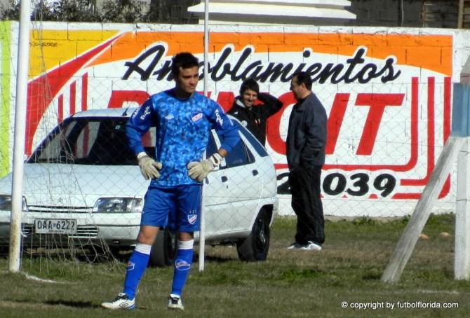 Andrés Alvarez el golero de la Sub 17 de Nacional que es imbatible