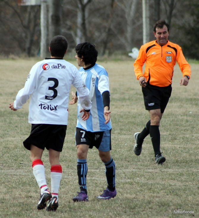 Como el 15-07-2012 Atlético y River, juegan en el Lacassy con arbitraje de Alanis
