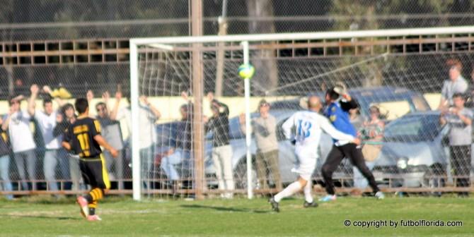 El gol de Richar Martinez que cerró el marcador en el Lavalleja