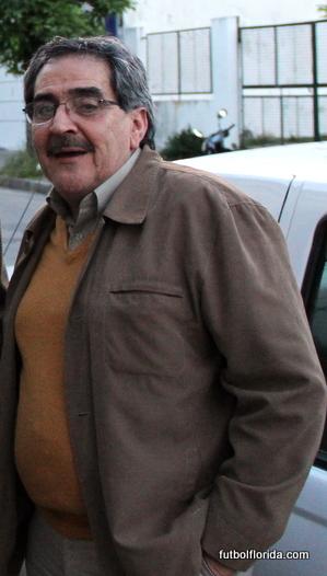 Tesorero de OFI Sr Julio García Bedat