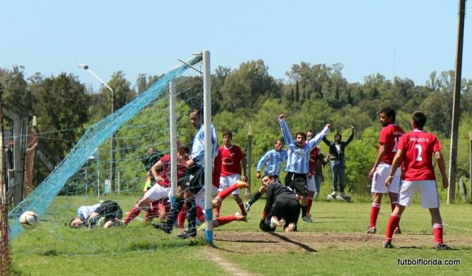 El envío de Frabega ya besó la red y se convierte el 2do de Atlético