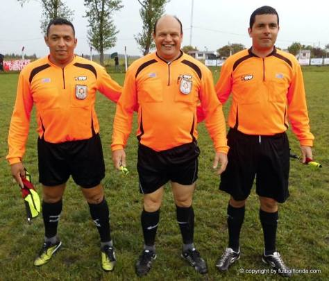 Arbitros. Foto Isidro Rocca
