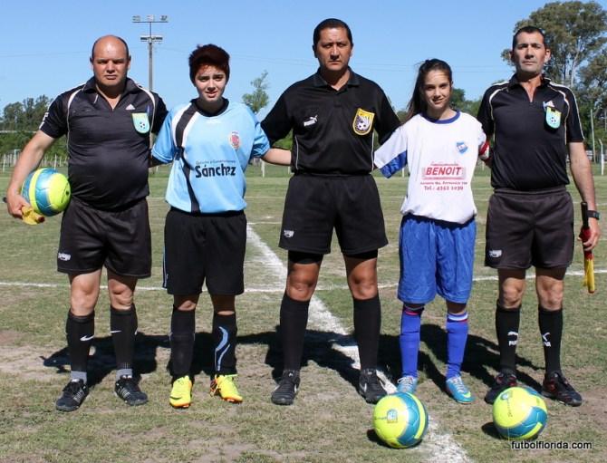 Dos Santos, Lateulade, Sosa, R Alanis y Santarcieri