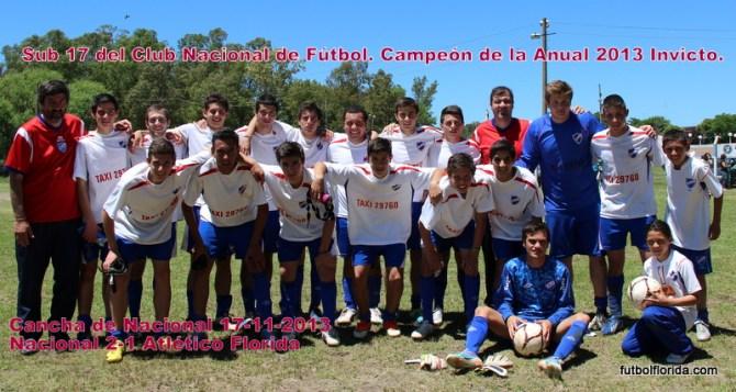 Nacional derrotó a Atlético y ganó la Anual