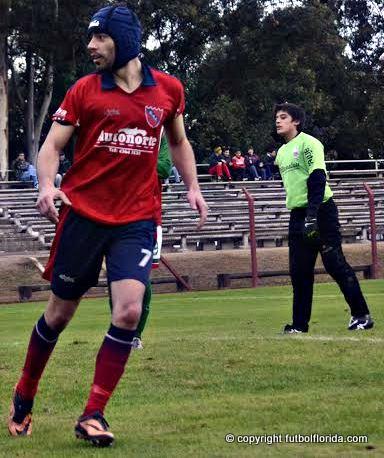 Mathias Larroca, el goleador de Independiente. Foto Horacio Oyhenard de Ecos Regionales
