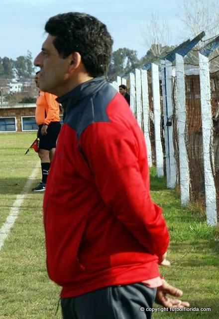 Cono Pietro, DT de River suspendido por un partido. Foto Javier Piedrabuena