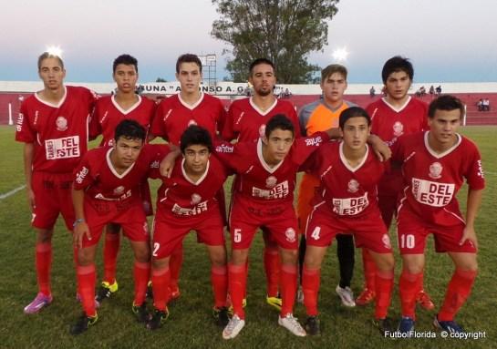 Juveniles de Ty Tres que metieron 10 goles. Willan Muñoz