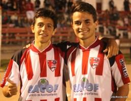 Rodrigo Silva junto a Ronaldo Barrios.