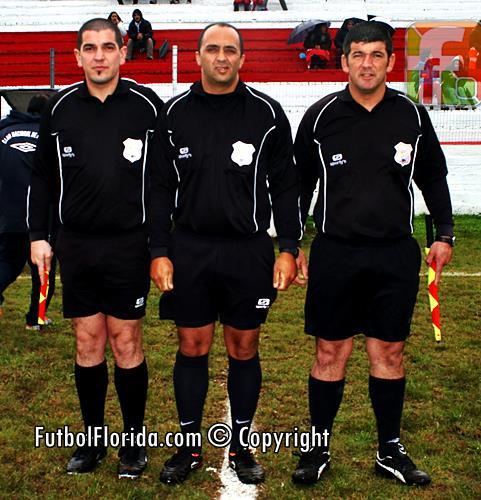 Los árbitros de Rocha