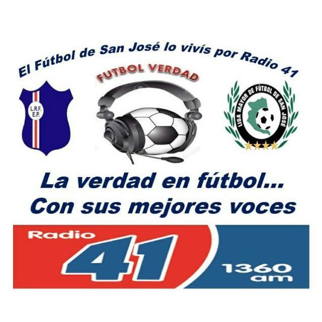 Todo del Fútbol de San José lo tenes en Radio 41. AM 1360 www.radio41.com.uy El Equipo deportivo que es elegido por la mayor audiencia