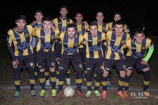 Peñarol de Nueva Palmira empató un partido increíble. Foto El Eco