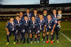 Sub 14 de Minas local en la 1era final. Foto Primera página