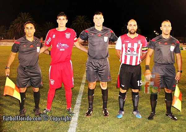 Cristian Bouvier capitanes y asistentes. Foto fanny Rueatalo