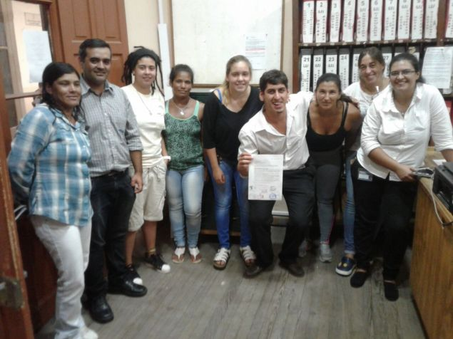 Los clubes de Salto presentan ponencia para el fútbol femenino. Foto Gabriel Paique