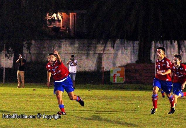 De todos colores los goles de Villar. Foto Fanny Ruetalo