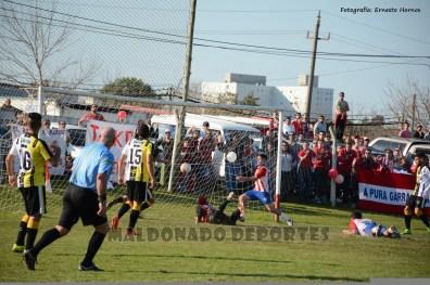 El gol de Marcelo Techera