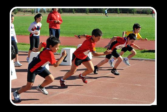 Resultado de imagen para atletismo niños