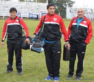 Miguel Piñeyro, Pablo López y Luis Añasco