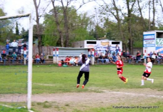 El 4to gol tricolor anotado por Catherine Solla con bonita definición