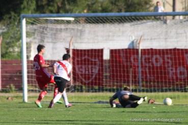 El gol de Pereira que le dio el triunfo a River
