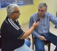 Javier Pons con Freddy Silva