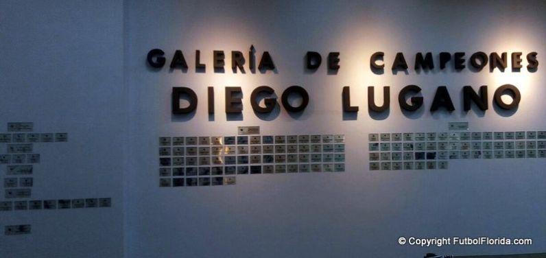 Galería Diego Lugano. Foto