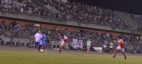 Rivera y Tacuarembó definen un lugar a estadio lleno. Foto Freddy Silva
