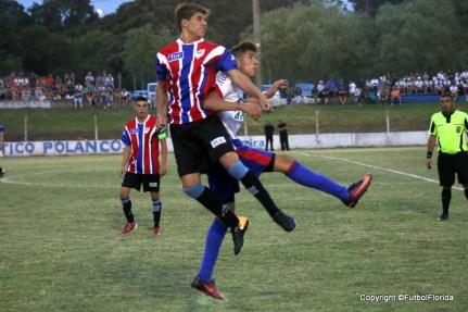 Foto del empate en juveniles de Nueva Palmira y Soriano