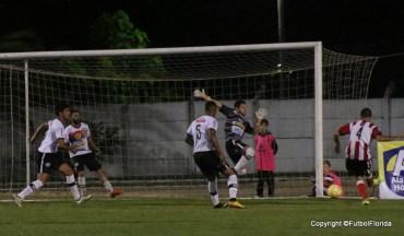 Giménez marcó el gol de la victoria de Florida.