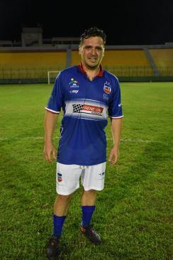 Mario Amorín señaló el gol minuano. Foto OralSport