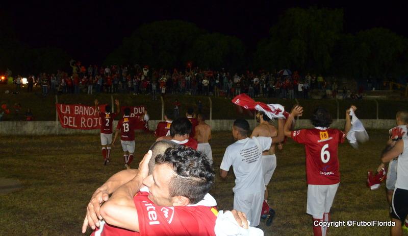 La Roja del Yí a la final