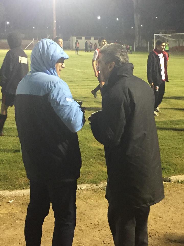 La Sub 17 de Florida enfrento a Uruguay en gran partido