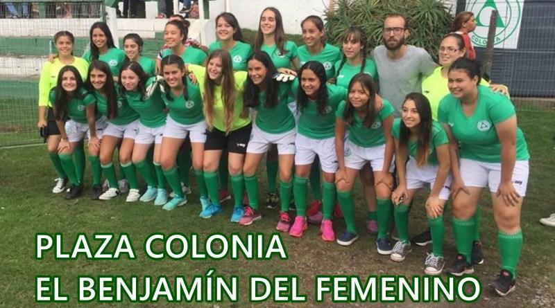 Plaza Colonia: Benjamín en el #Femenino
