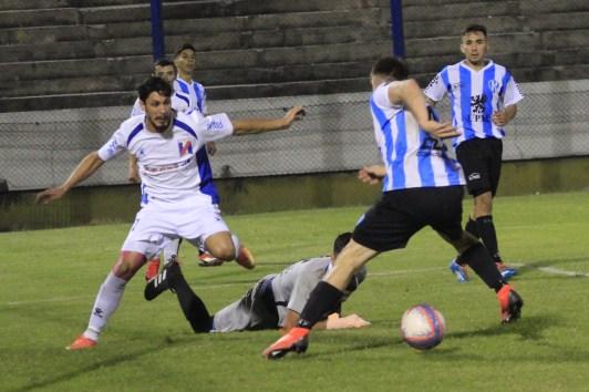 Juan Andrioli el goleador Sanducero. Foto Milton Cabrera