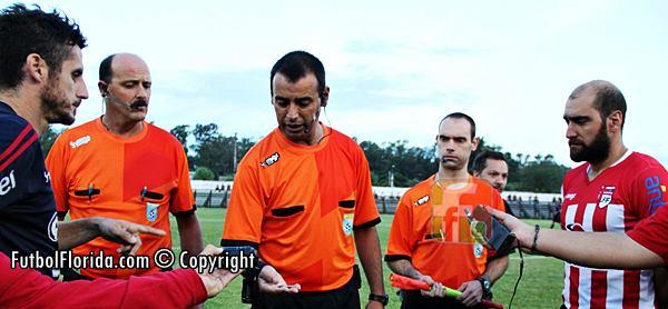 Los detalles y árbitros #COPAOFI B