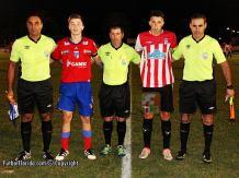 José Avila, Elio Gomez, Jorge Lopez. y capitanes Foto Fanny Ruetalo